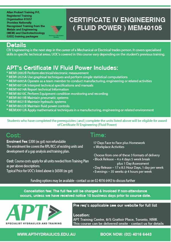 cert-iv-engineering-fluid-power-mem40105