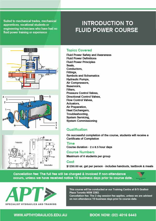 Introduction to Fluid Power Course