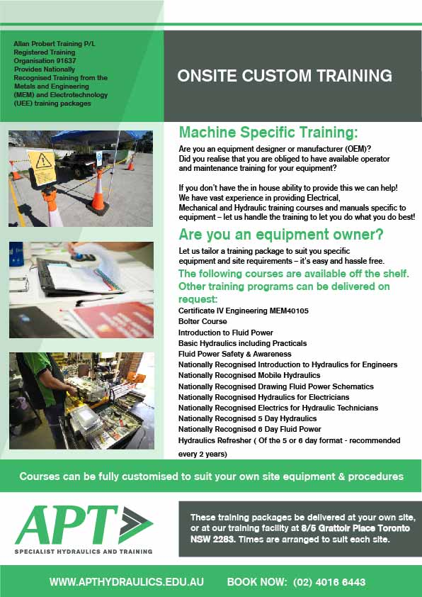 onsite-equipment-specific-training