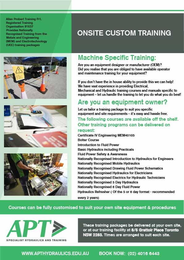 onsite-equipment-specific-training